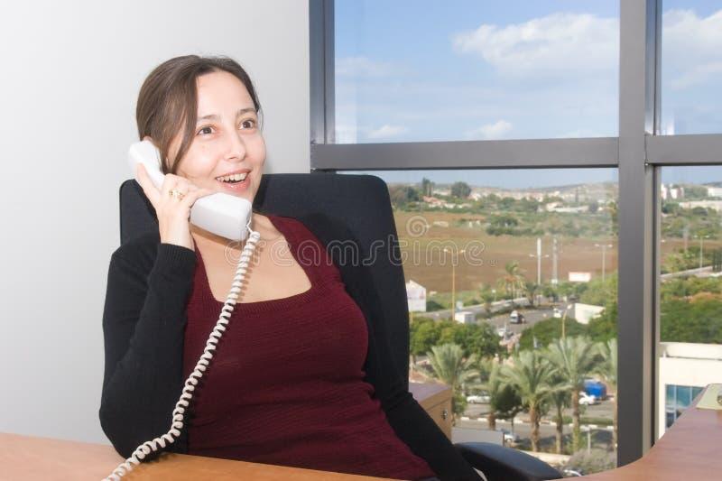 kontorskvinna arkivbilder