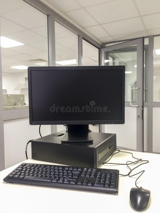 KontorsPCarbetsstation arkivbild