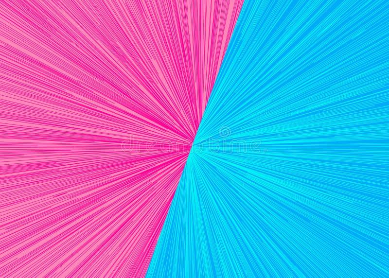 Kontra blixtbakgrund vektor illustrationer