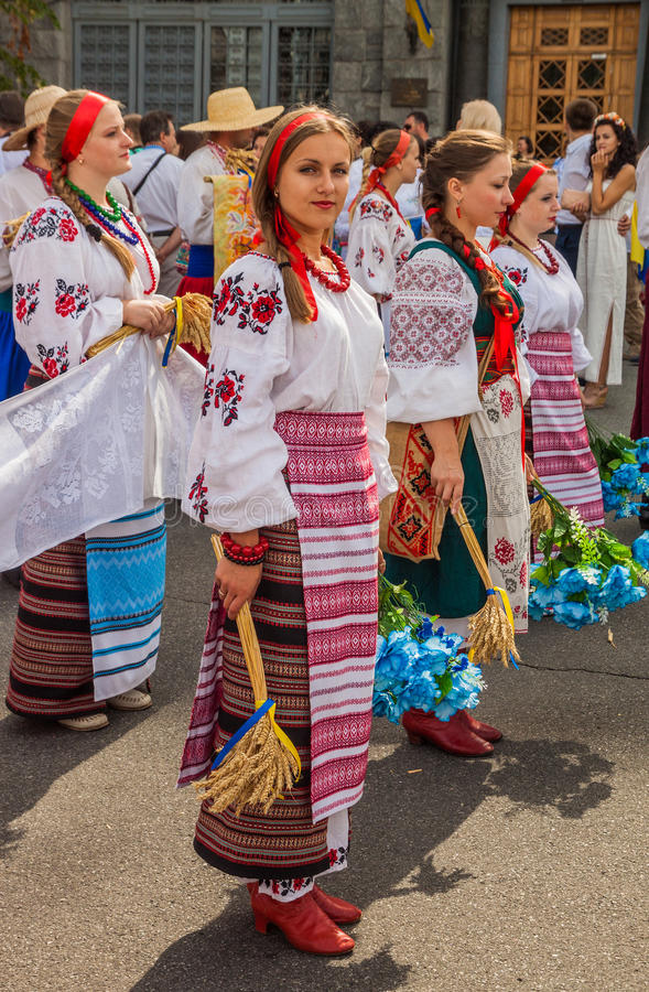 Kontraktovagebied in Podil-delegatie van het gebied van Poltava binnen stock afbeelding
