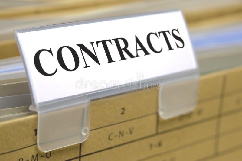 Kontrakty i dokumenty zdjęcia stock