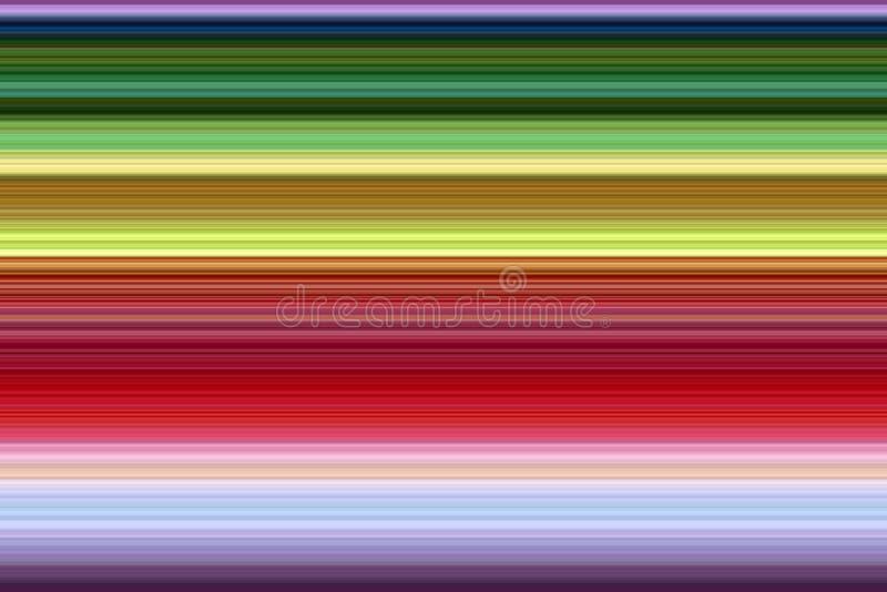 Kontrasta lśnienia linie, abstrakcjonistyczny tło ilustracja wektor
