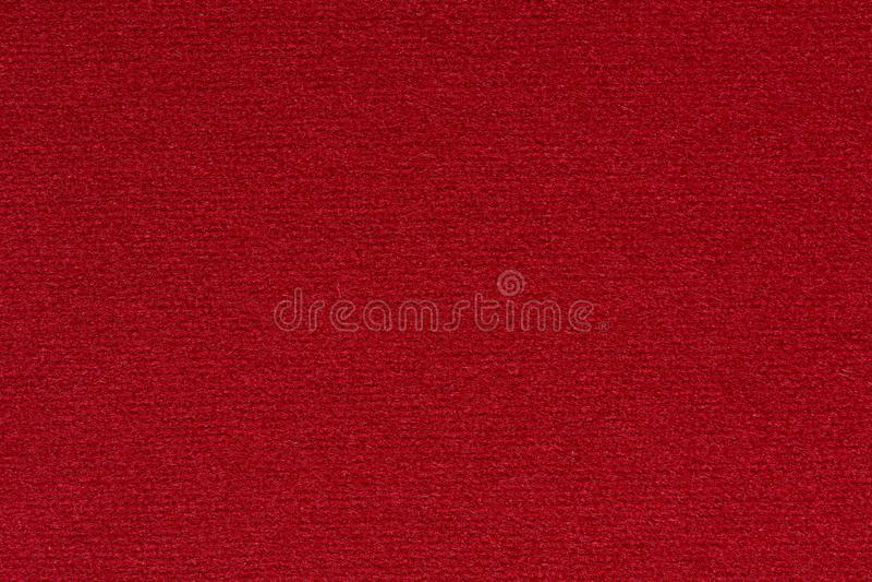 Kontrastieren Sie Gewebehintergrund in der großartigen roten Farbe stockfotos