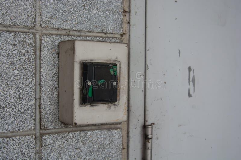 Kontrola dostępu system blokować i otwierać obraz stock