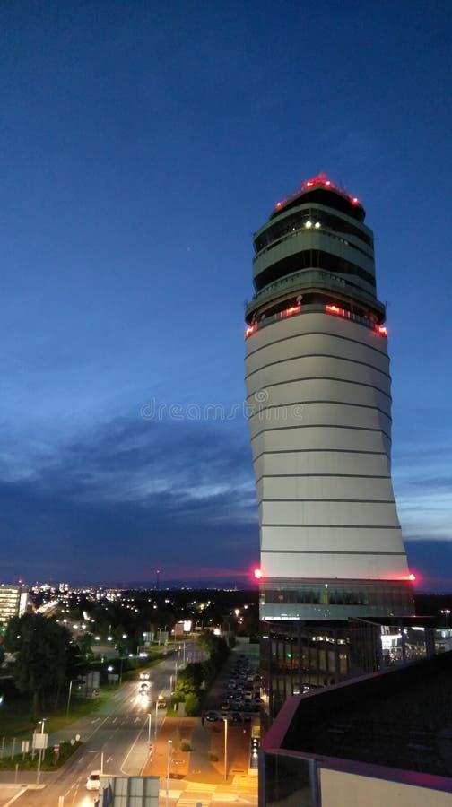 Kontrola lotów wierza, Wiedeń, Austria zdjęcie royalty free