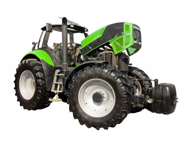 Kontroll av traktormotorn arkivbilder