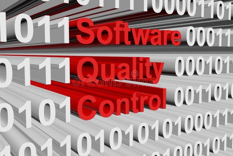 Kontroll för programvarukvalitet royaltyfri illustrationer