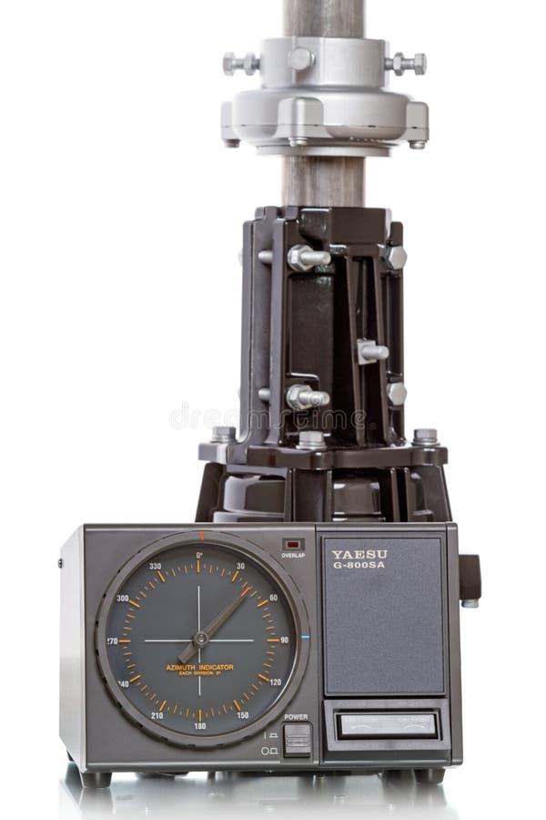 Kontrollant- och antennrotator fotografering för bildbyråer