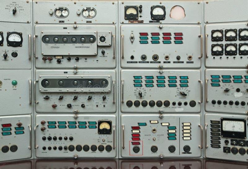 kontrollbord arkivfoto