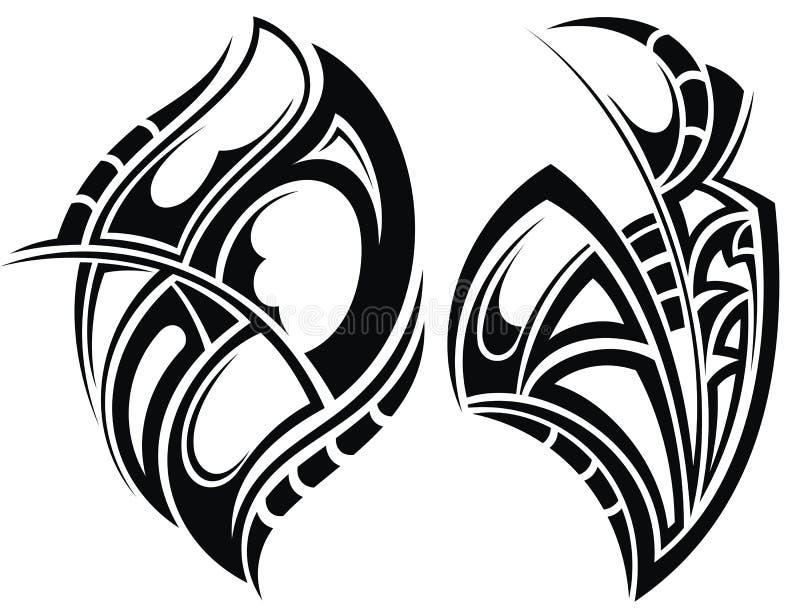 kontrollera designbilden min liknande tatuering för portföljen vektor illustrationer