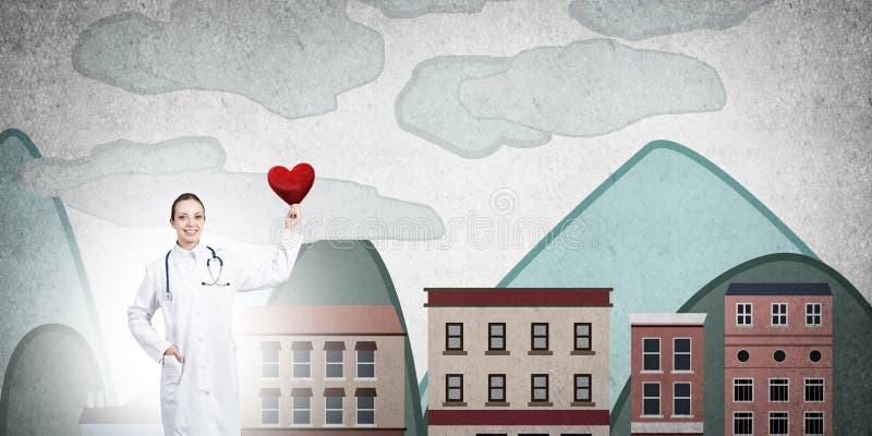 Kontrollera din hjärtahälsa arkivbilder