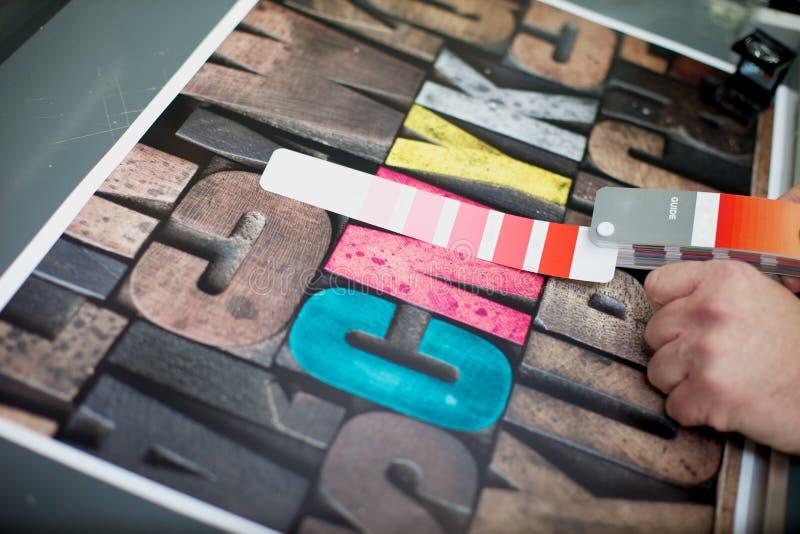 kontrollera färg arkivfoton