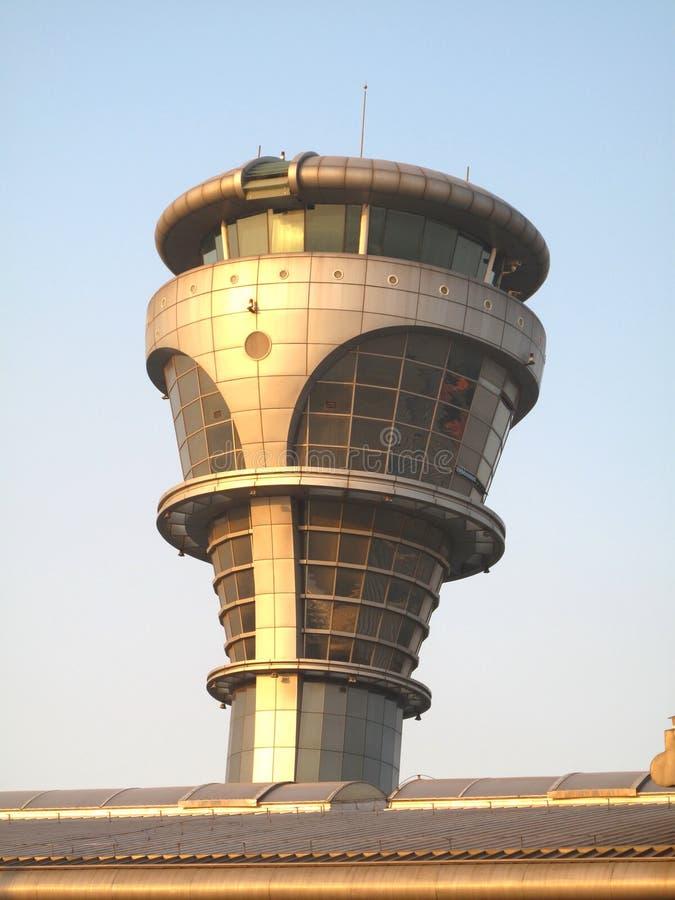 kontrollera flygtornet royaltyfri bild