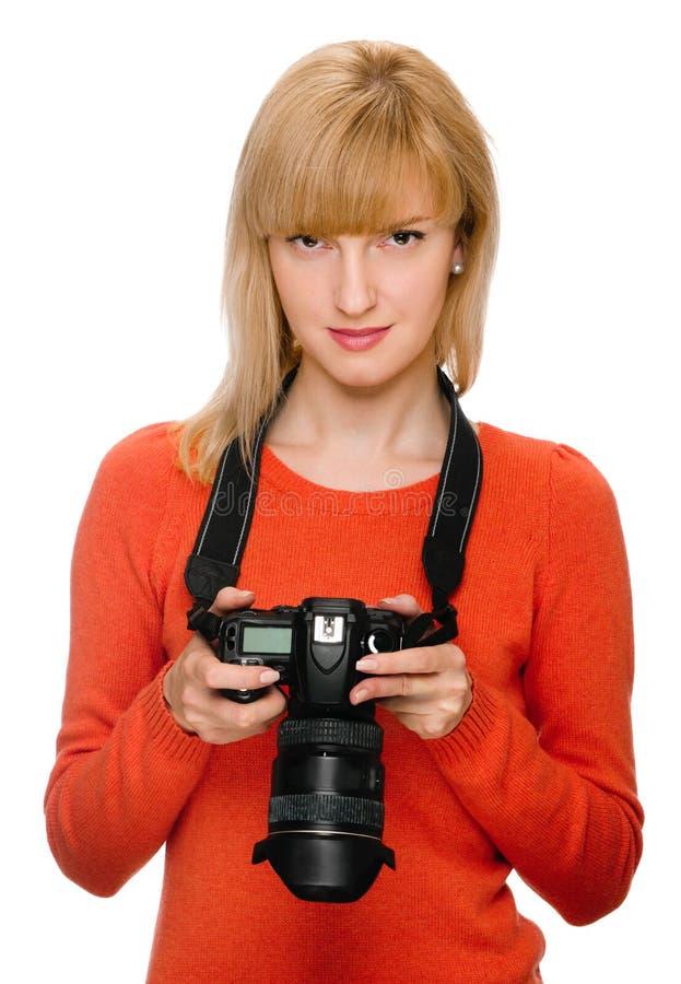 Kontrollera fotoet fotografering för bildbyråer