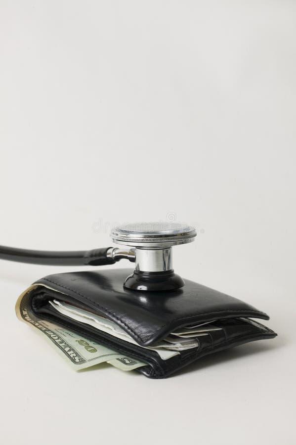 kontrollera plånboken royaltyfria foton