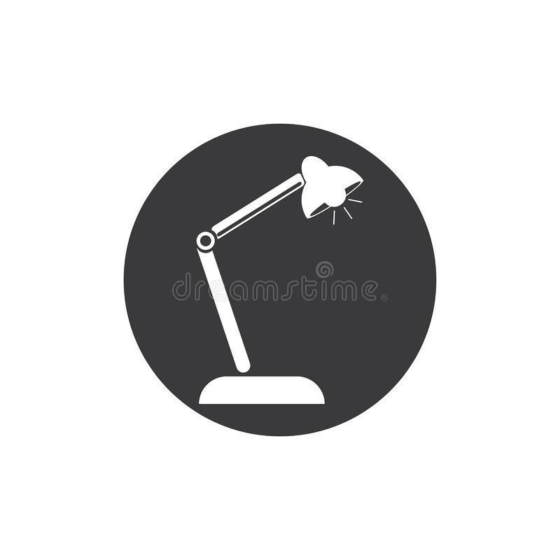 kontrollera skrivbordbildlampan min annan liknande portf?lj stock illustrationer