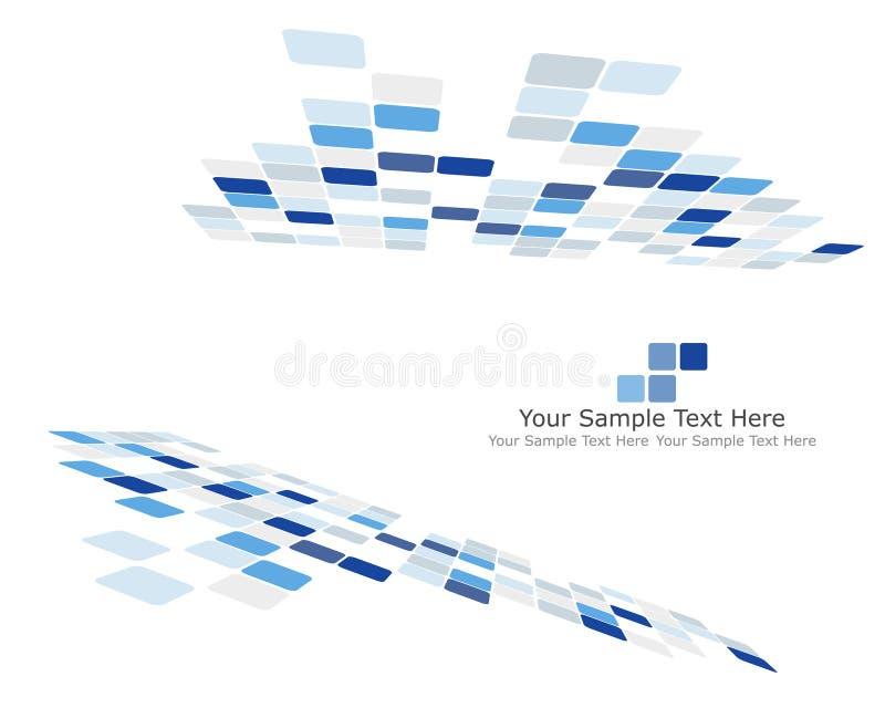 kontrollerad bakgrund stock illustrationer