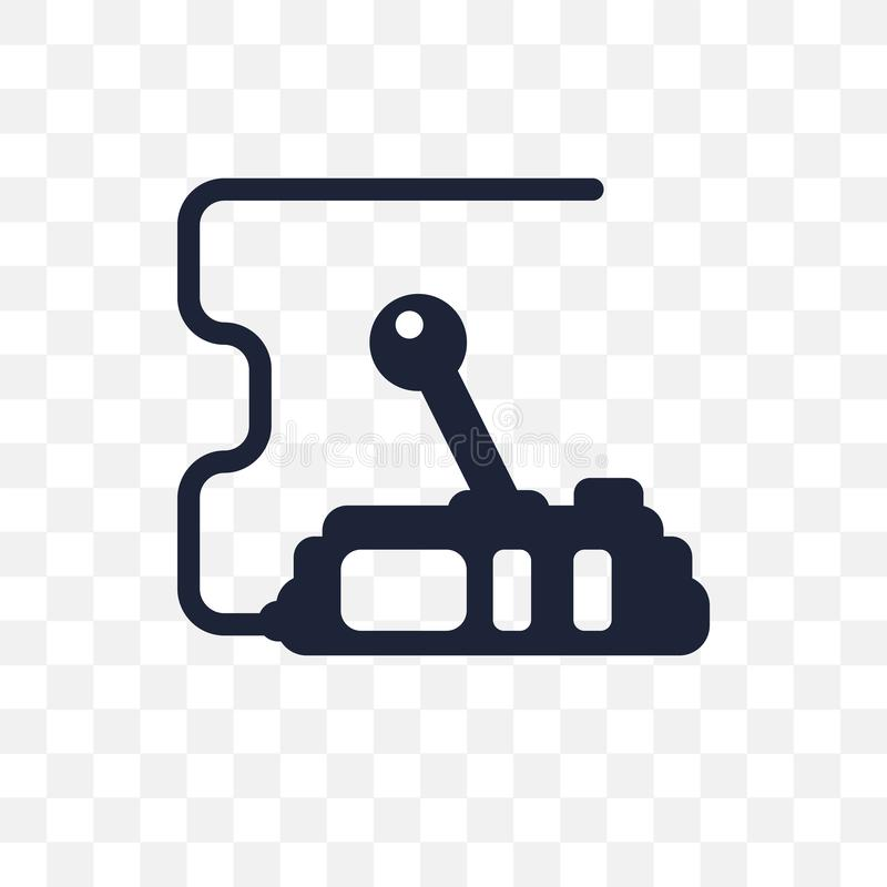 Kontrollerar den genomskinliga symbolen Design för kontrollsymbol från gallerit Co stock illustrationer