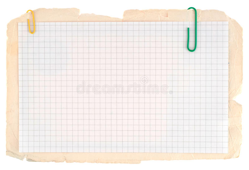 kontrollerat anteckningsbokpapper arkivbilder