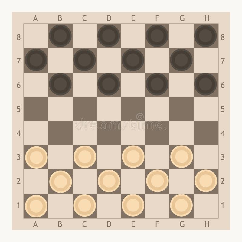 Kontrolleur-Spiel-Brett vektor abbildung