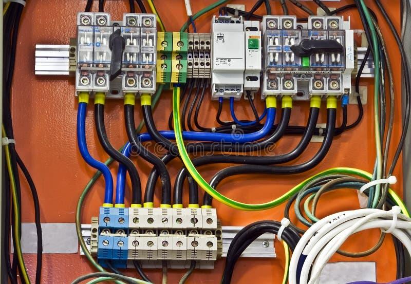 kontrollsystem royaltyfri bild