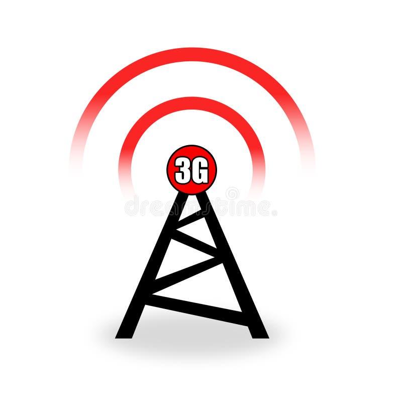 Download Kontrollturm 3G stock abbildung. Illustration von netz - 9091522
