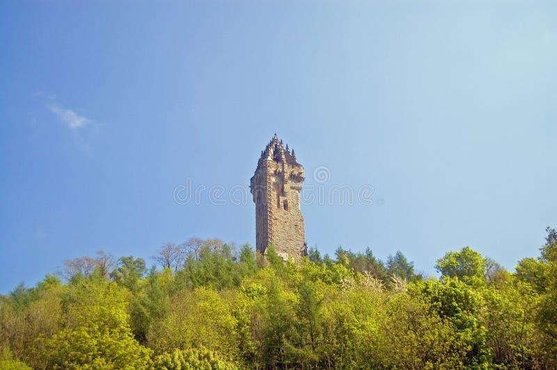 Kontrollturm auf dem Hügel lizenzfreies stockbild