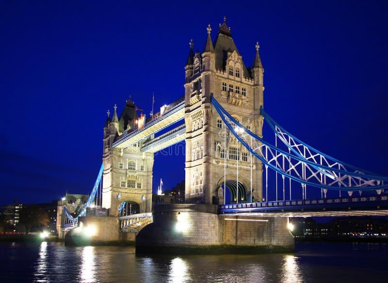 Kontrollturm-Brücke in London stockfoto