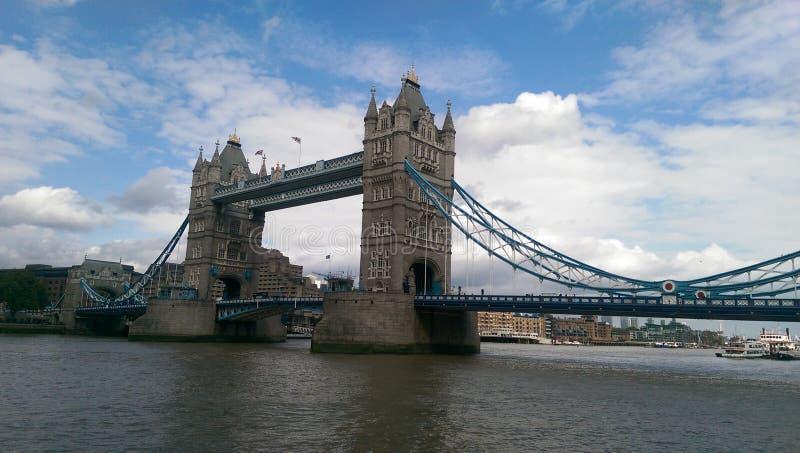 Kontrollturm-Brücke London stockbilder