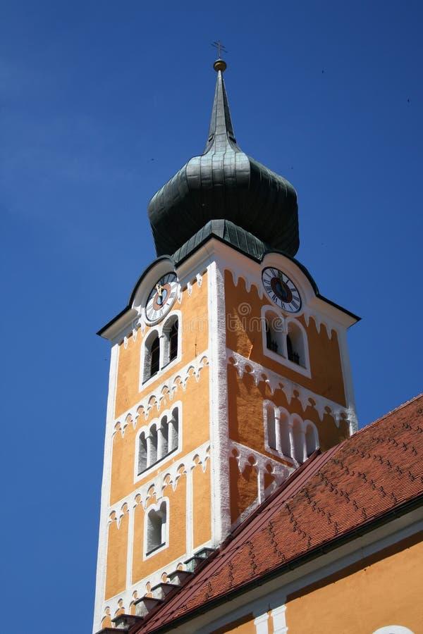 Kontrollturm der Kirche stockfoto