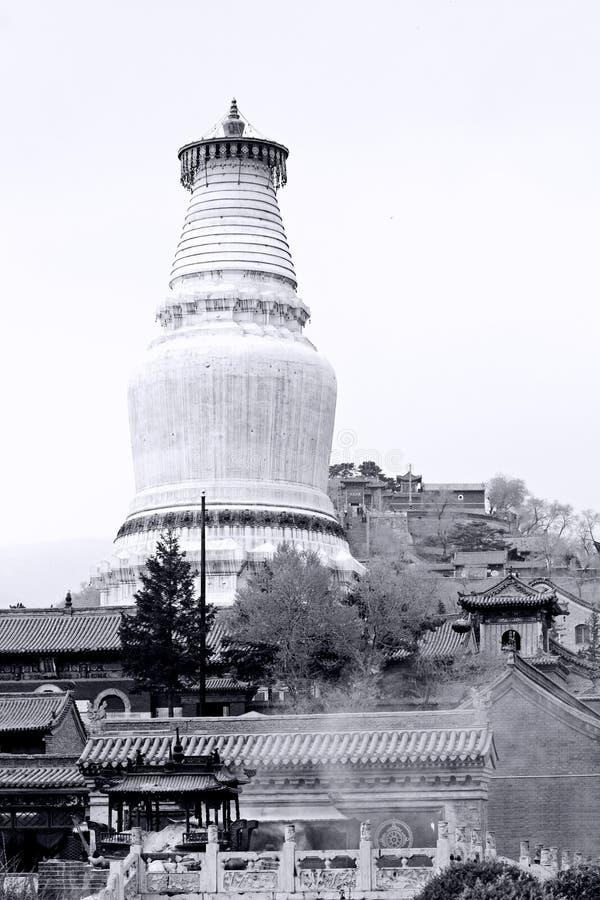 Kontrollturm des Buddhismus-Heiligen Landes. lizenzfreie stockfotos