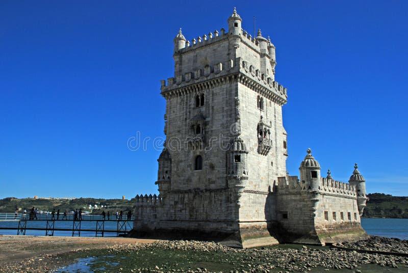 Kontrollturm von Belem, Lissabon lizenzfreie stockfotografie