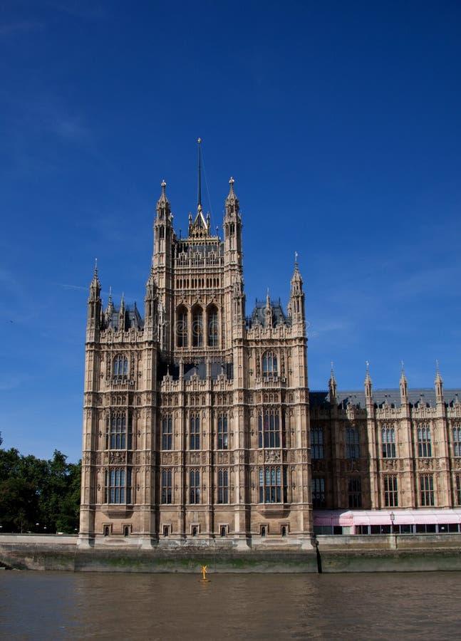 Kontrollturm-Westminster-Palast des Kanzlers stockfotos