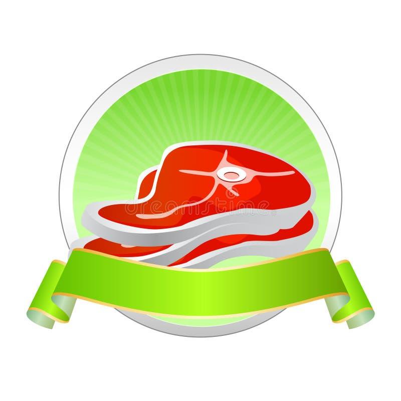 kontrolnej oceny mięsny ilości wektor ilustracji