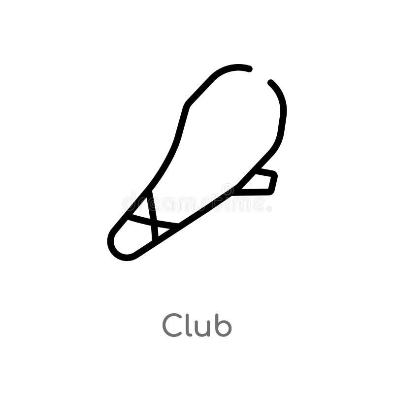 kontur świetlicowa wektorowa ikona odosobniona czarna prosta kreskowego elementu ilustracja od era kamienia ?upanego poj?cia edit ilustracji