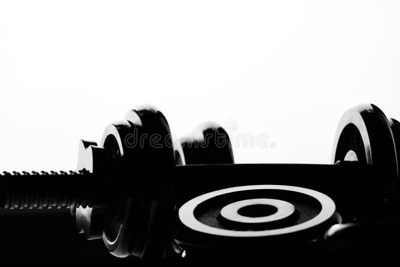 Konturhantel fotografering för bildbyråer