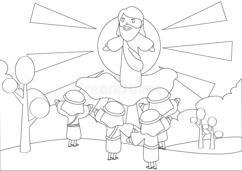 konturowi rysunki ilustracja wektor