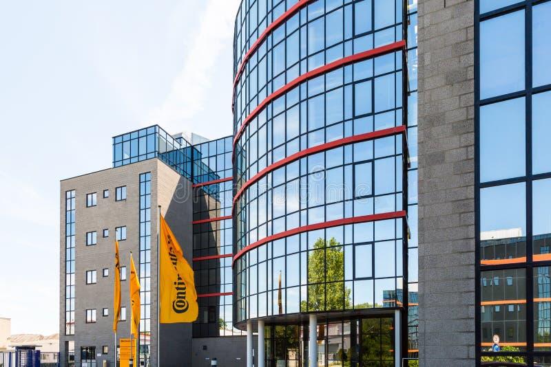 KONTYNENTALNY administracja budynek zdjęcia royalty free