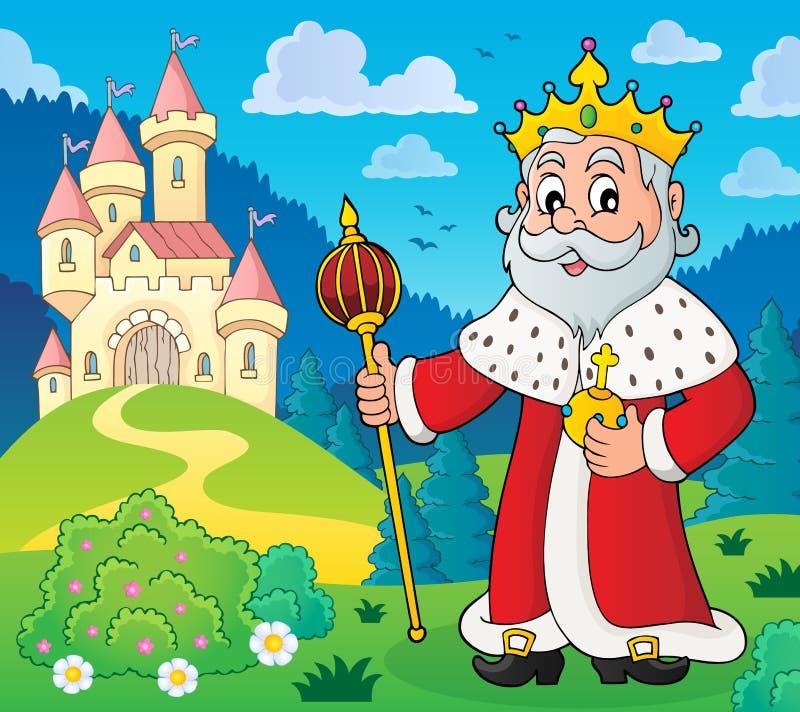 Konungämnebild 6 royaltyfri illustrationer