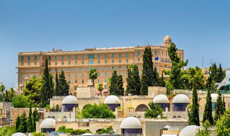 Konung david hotel jerusalem israel fotografering f r for Design hotel jerusalem