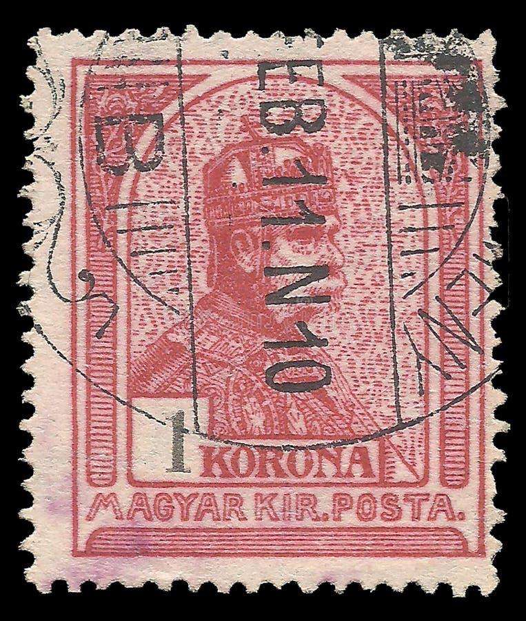 Konung Franz Josef royaltyfri fotografi