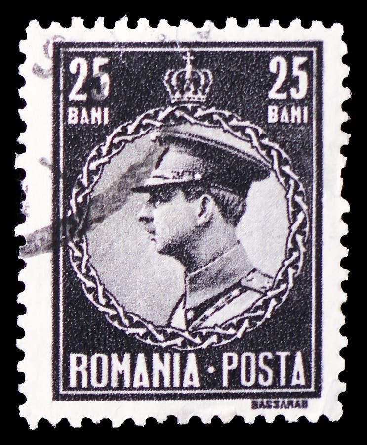 Konung Karl II, serie för konung Carol II, circa 1930 royaltyfri fotografi