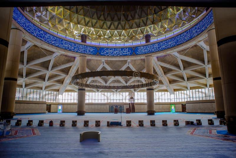Konung Khalid International Airport Grand Mosque arkivbilder