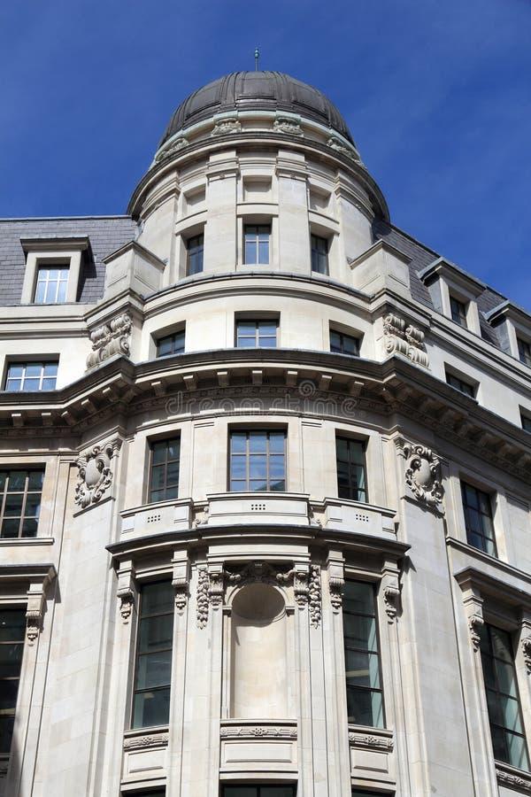 Konung William Street arkivbild