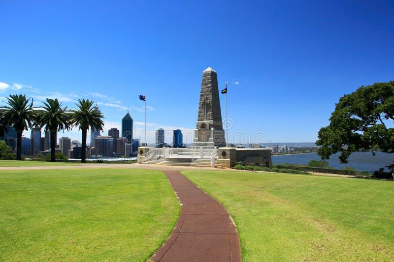 Konungar parkerar, Perth, västra Australien arkivbilder