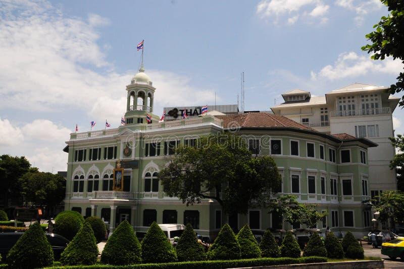 Konungen Prajadhipok Museum är ett museum i Pom Prap Sattru Phai District, Bangkok, Thailand, royaltyfria foton