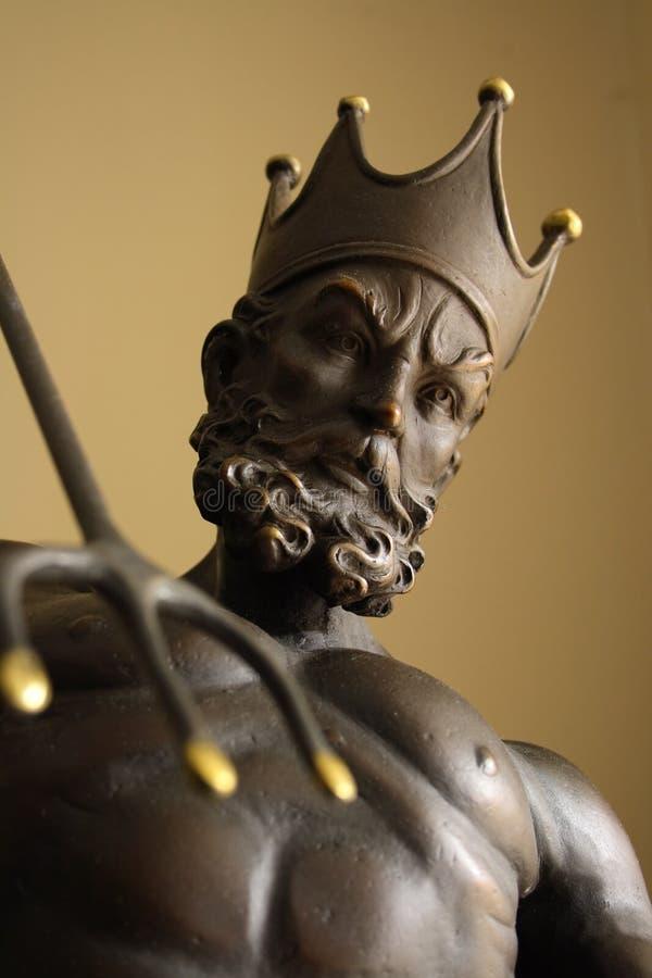 konungneptune staty royaltyfri foto
