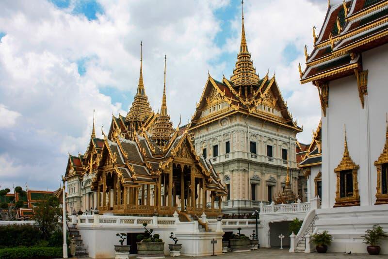Konungs slott i Bangkok arkivbilder