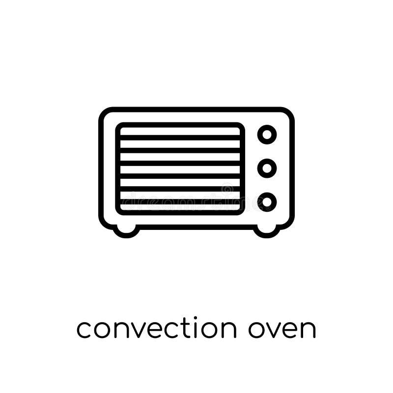 konwekcja piekarnika ikona od urządzeń elektronicznych inkasowych ilustracji