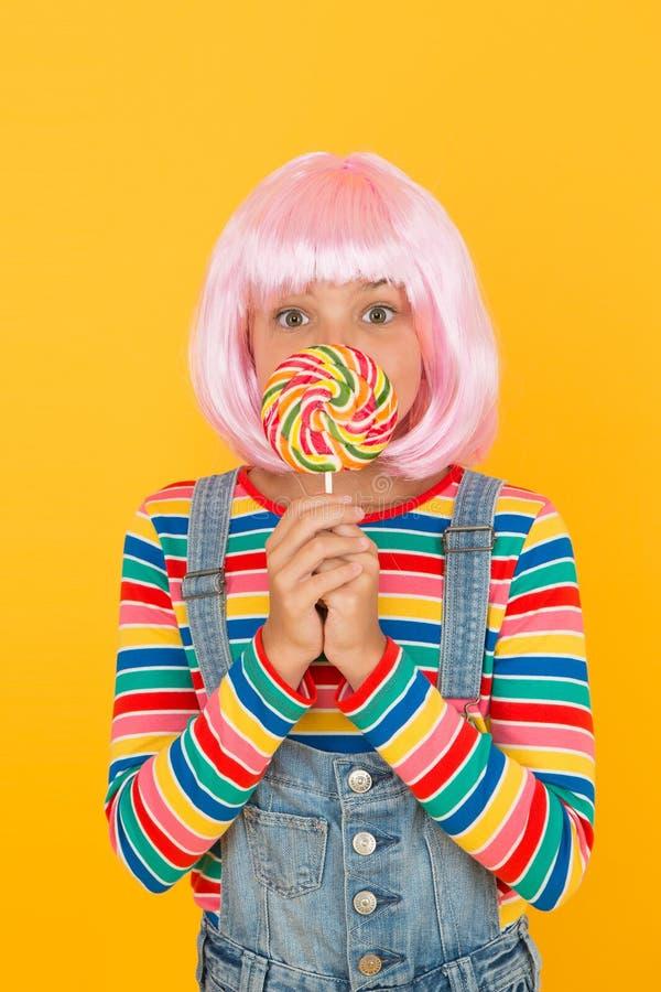 Konwencja anime Słodkie życie Koncepcja partii anime Szczęśliwa dziewczynka Wentylator animowany Fantastyczne bohaterki zdjęcia stock